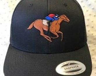HORSE RIDER BK CAP