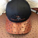 Full quill ostrich Teddy's Cap